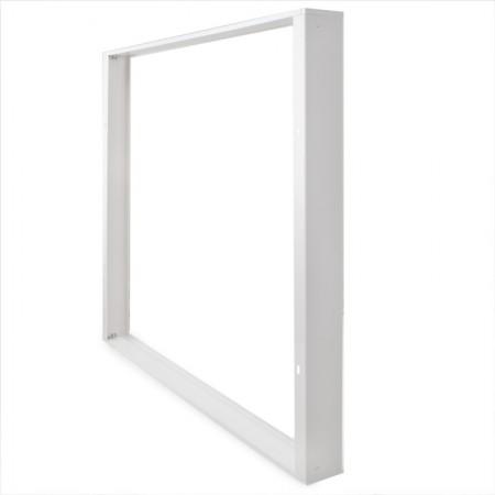 Aro Downlight Basculante Circular Aluminio Color Blanco 93mm