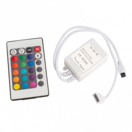 Controlador y Mando a Distancia RGB Serie BRICO Interior IP25