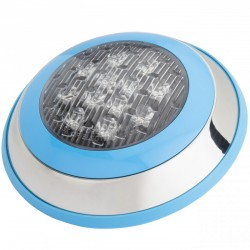 Foco de Piscina de LEDs Montaje Superficie Ø230mm 12W Multicolor con Mando
