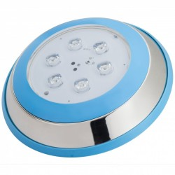 Foco de Piscina de LEDs Montaje Superficie Ø230mm 6W Luz: Blanco Natural