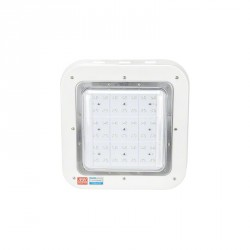 Plafón de LEDS Especial Gasolineras Philips/Meanwell IP65 IK08 100W 9500Lm 100.000H