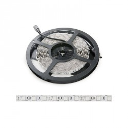 Tira de 300 LEDs SMD5050 12VDC 60W IP65 Color Ultravioleta